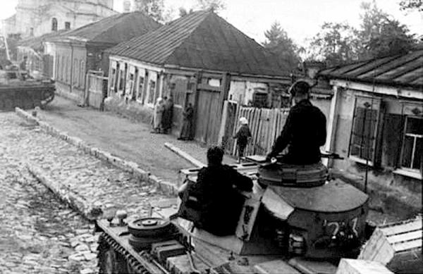 Немцы в Воронеже