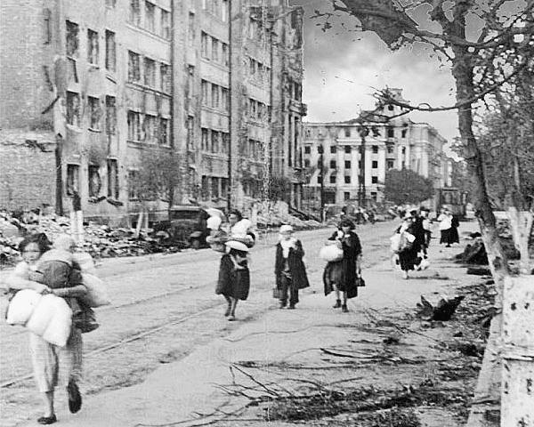 Воронеж в 1942 году