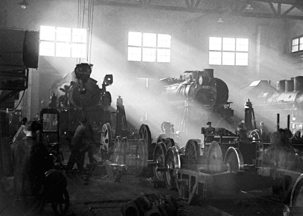 Годы войны. Вагоноремонтный завод