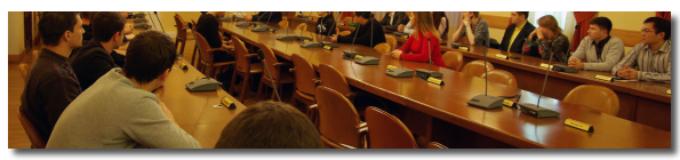 09 ноября 2017 — Собрание аспирантов-первокурсников
