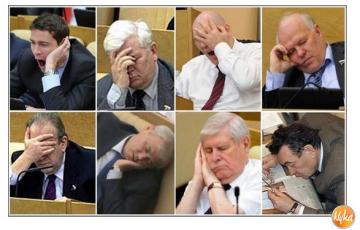 Депутаты Госдумы за работой