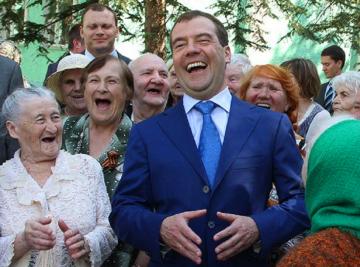 Медведев и пенсионеры