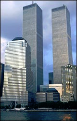 Башни-близнецы, Нью-Йорк
