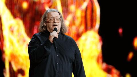 Александр Градский на концерте в честь пятилетия шоу «Голос»