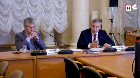 Прямой разговор Валерия Фалькова с членами РАН